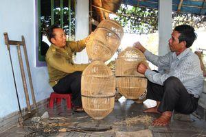 Bản tin truyền hình: Kỳ công nghề đan đó