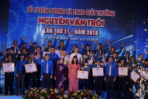 Tuyên dương 32 gương đạt giải thưởng Nguyễn Văn Trỗi lần thứ 11 - năm 2018