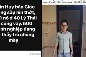 Công an tỉnh Bình Định vào cuộc điều tra đối tượng 'giấu mặt' đe dọa phóng viên