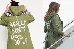Đệ nhất phu nhân Mỹ tiết lộ thông điệp sau chiếc áo 'Tôi không quan tâm' gây tranh cãi