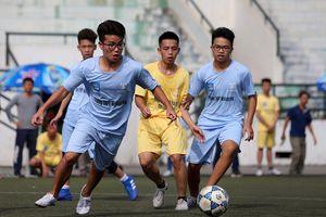 Khởi tranh Giải bóng đá học sinh THPT Hà Nội
