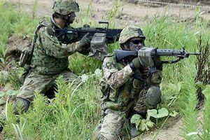Binh sĩ Nhật - Mỹ tập trận tái chiếm đảo