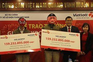 57 khách hàng trúng thưởng 2.329 tỷ đồng Jackpot Mega 6/45 của Vietlott