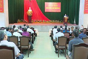 Tập huấn nghiệp vụ công tác Mặt trận huyện Phú Vang