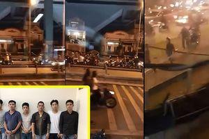 Khởi tố 6 người trong vụ hỗn chiến ở cầu Nhị Thiên Đường