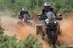 Siêu môtô địa hình sắp ra mắt từ Ducati