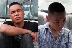 Cảnh sát chặn ôtô bắt 2 người mang hàng chục viên ma túy