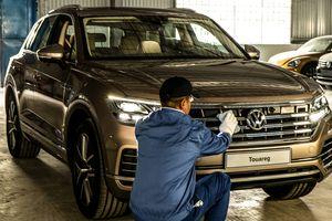 Volkswagen Touareg 2019 đầu tiên về Việt Nam