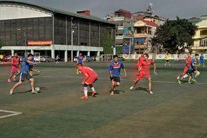 Khai mạc Giải bóng đá Hội Nhà báo TP Hà Nội mở rộng năm 2018