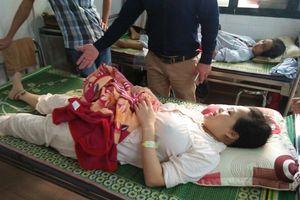 Bại chân trái sau khi mổ sinh tại Bệnh viện Sản Nhi Bắc Ninh