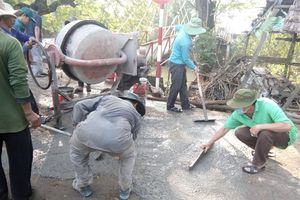 Góp sức xây dựng nông thôn khởi sắc