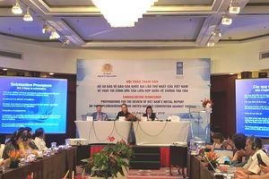 Tham vấn hoàn thiện Báo cáo quốc gia về thực thi Công ước chống tra tấn