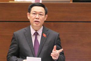 PTT Vương Đình Huệ: 'Chuẩn bị trả lời chất vấn chúng tôi rất lo'
