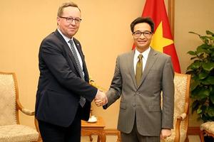 Việt Nam - Phần Lan: Đẩy mạnh hợp tác, chuyển giao công nghệ sạch