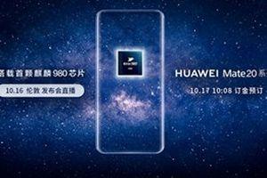 Huawei Mate 20 sẽ được bán ra trong tuần này