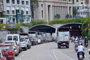 Hầm Thủ Thiêm thông xe trở lại sau sự cố nghiêm trọng