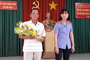 Viện KSND H.Vĩnh Cửu xin lỗi ông Bùi Xuân Quang vì oan sai