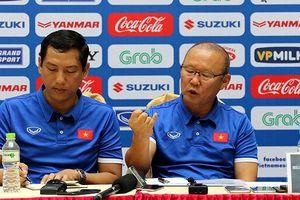 HLV Park Hang Seo muốn dẫn đầu bảng ở AFF Cup 2018