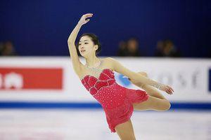Mê mẩn vẻ đẹp trong sáng của 'hot girl trượt băng Trung Quốc'