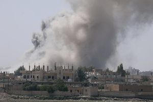 Syria tố cáo liên minh Mỹ ném bom chứa phốt-pho trắng