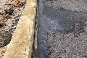 Tin mới nhất về vụ cao tốc 34.000 tỷ vừa dùng đã hỏng xuất hiện vệt dầu loang