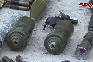 Quân đội Syria đào được lô vũ khí 'khủng' do Mỹ sản xuất ở Damascus