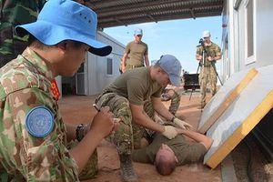 Vương quốc Anh giúp Việt Nam triển khai Bệnh viện dã chiến tại Nam Sudan