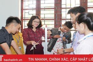 Ngôi nhà chung của học sinh 10 dân tộc thiểu số ở Hà Tĩnh