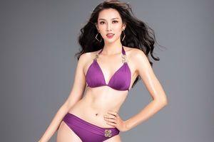 Thùy Tiên nóng bỏng với bikini trước ngày thi Miss International 2018