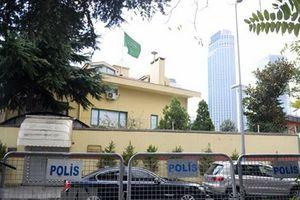TNK khám xét lãnh sự quán Saudi Arabia sau vụ nhà báo mất tích