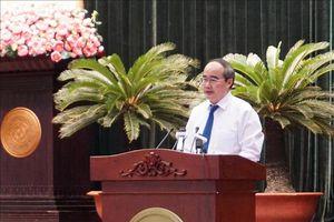 Khai mạc Hội nghị lần thứ 18 Ban Chấp hành Đảng bộ TP Hồ Chí Minh khóa X
