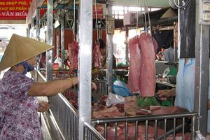 Giá thịt lợn bình ổn tại TP Hồ Chí Minh được điều chỉnh tăng đến 7.000 đồng/kg