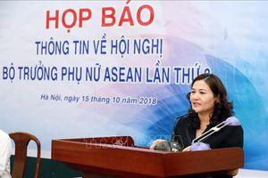 Thủ tướng sẽ dự khai mạc Hội nghị Bộ trưởng Phụ nữ ASEAN (AMMW) lần thứ 3
