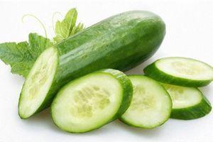 Một số loại rau quả làm giảm béo