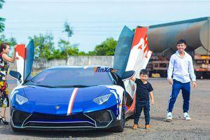 Minh 'Nhựa' chuẩn bị 'thanh lý' siêu xe Lamborghini Aventador SV?