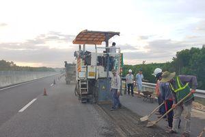 Ngày 17/10, khắc phục xong hư hỏng cao tốc Đà Nẵng - Quảng Ngãi