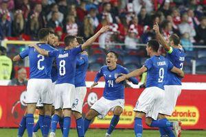 Ba Lan 0-1 Italia: Mancini giải hạn