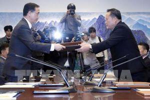 Hai miền Triều Tiên công bố thông cáo chung trong hội đàm cấp cao