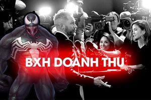 BXH doanh thu Bắc Mỹ (12/10 -14/10): Gặp hai đối thủ mới, 'Venom' vẫn giữ vững ngôi vương với 35,7 triệu USD