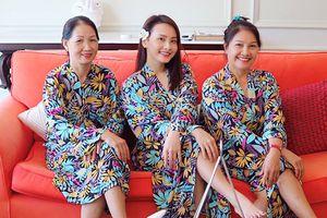 Bảo Thanh khoe ảnh chụp với mẹ đẻ - mẹ chồng, fan nhận xét: Cứ tưởng 3 chị em gái!