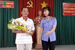 Đồng Nai: Một công dân được VKS công khai xin lỗi sau gần 3 năm truy tố oan