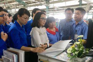Khảo sát hoạt động Đoàn tại Công ty Changshin Việt Nam