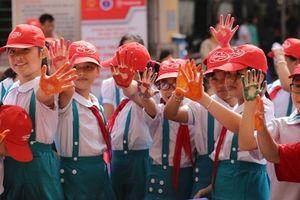Hơn 1.300 học sinh hưởng ứng hoạt động Ngày Thế giới rửa tay với xà phòng
