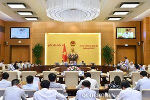 Thường vụ Quốc hội cho ý kiến về nhân sự cấp cao tại phiên họp thứ 28