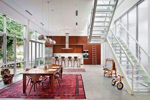 Gợi ý chọn thảm giúp cho phòng ăn đẹp và ấm cúng