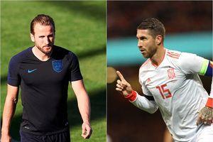 Sergio Ramos ca ngợi Harry Kane trước đại chiến Anh-Tây Ban Nha