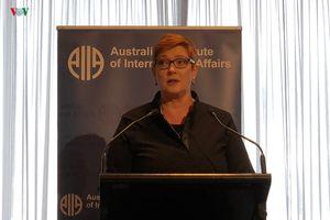 Ấn Độ-Thái Bình Dương là trọng tâm chính sách đối ngoại của Australia