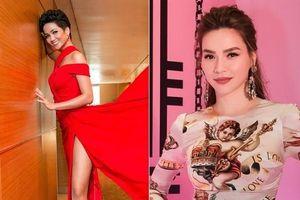 Diện trang phục hợp dáng, Hồ Ngọc Hà và H'Hen Niê lot top sao mặc đẹp trong tuần