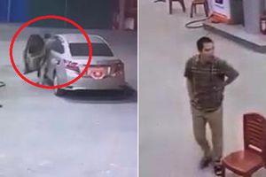Clip: Tài xế ô tô quỵt tiền đổ xăng lúc rạng sáng ở Hà Nội