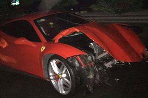 Tiết lộ nguyên nhân siêu xe của ca sỹ Tuấn Hưng gặp tai nạn bị hư hỏng nặng